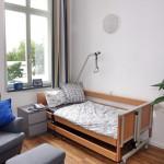 Wohnung Pflegebett